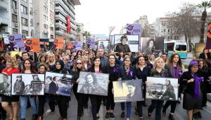 Karşıyakalı kadınlardan eşitlik ve adalet çağrısı