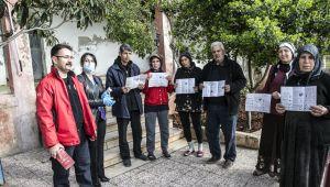 Türkiye'den Suriye'nin kuzeyinde koronavirüse karşı bilgilendirme çalışması
