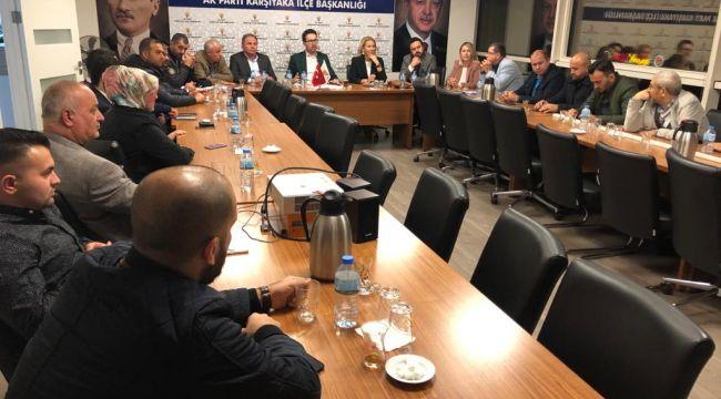 AK Parti Karşıyaka'dan 'Biz Bize Yeteriz'e '35.5' bağışı