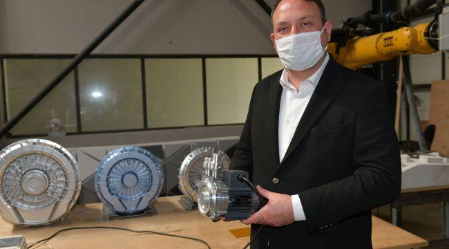 Başkan Utku Gümrükçü'denSolunum Cihazı Ventilatörü Üretimine Destek