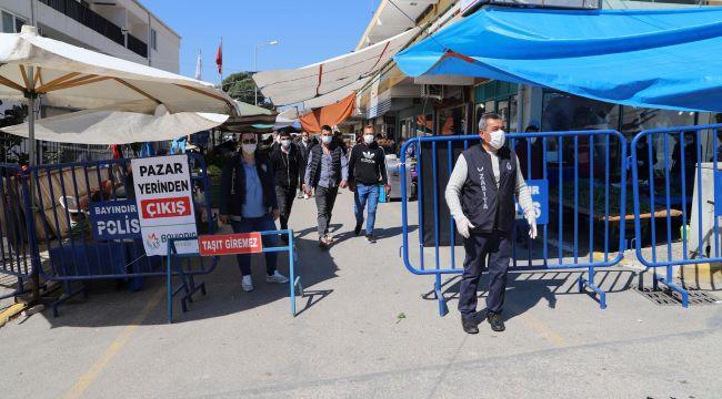 Bayındır Belediyesi Pazar Yerlerindeki Önlemleri Arttırdı