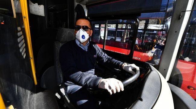 İzmir'de toplu taşımada maske zorunluluğu geliyor