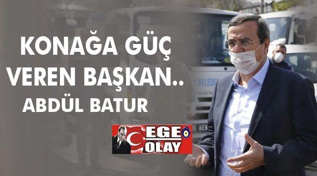 Konak'a Güç Veren Başkan, Abdül Batur
