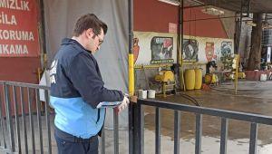 Konak'ta araç yıkama istasyonlarına kapatma