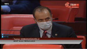 MHP'li Tamer Osmanağaoğlu: Kredi Başvurularının Olumsuz Sonuçlanmasının Önündeki engeller Olağan Üstü Süreç De Göz Önünde Bulundurularak Kaldırılmalıdır!