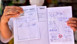 Askıda Reçete Bornova, İlk bağış Başkan İduğ'dan