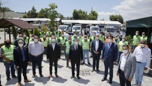 Başkan Batur çalışanlarıyla bayramlaştı