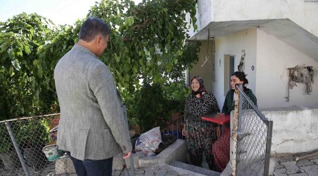 Başkan Tugay'dan Yamanlar'a bayram ziyareti