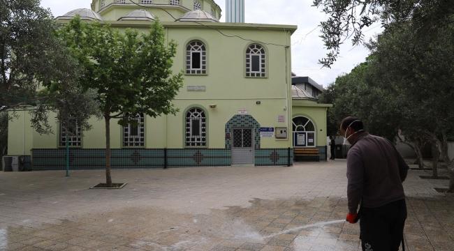 Bayındır Belediyesi Camilerin Temizliğini Yaptı