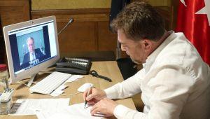 Bayındır Belediyesi Ve Ege Üniversitesi Arasında Online Protokol