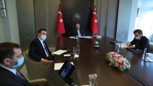 """Cumhurbaşkanı Erdoğan: """"Türkiye küresel salgın sürecini başarıyla yönetmiş ve sonuca yaklaşmıştır"""""""