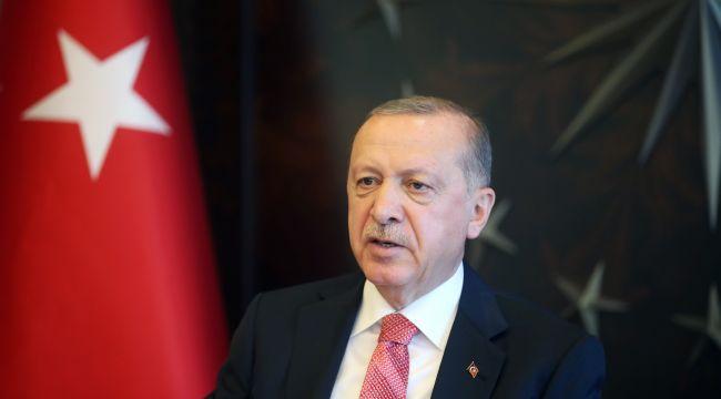 """Erdoğan; """"Salgın döneminde yaşananlar, sağlık alanında yaptıklarımızın önemini göstermiştir"""""""