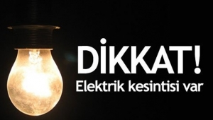 İzmir'de 24 İlçede Elektrik Kesintisi
