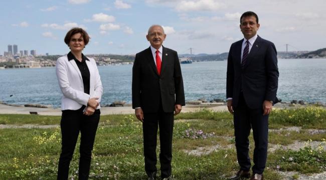 Kılıçdaroğlu,Kaftancıoğlu ve İmamoğlu'ndan Tarihi Yarım Ada Turu