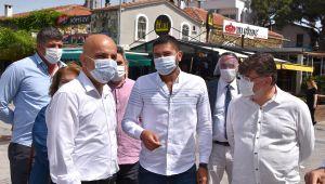 Milletvekili Mahir Polat Foça'yı Ziyaret Etti