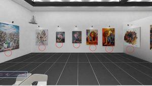Ressamlar Sergilerini Online Sergiliyor