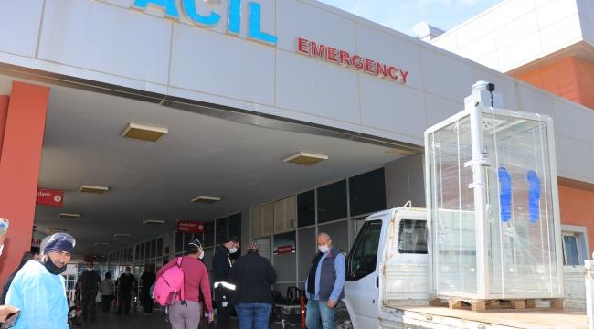 Sağlık çalışanları için tüm imkanlar seferber edildi
