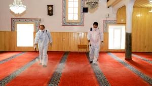 Seferihisar'da Camiler ibadete hazır