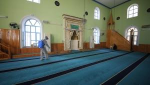 Torbalı'da camiler Cuma namazına hazır