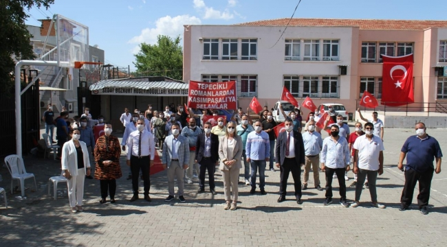 AK Parti Konak'ta seferberlik … 450 kişi partiye katıldı…