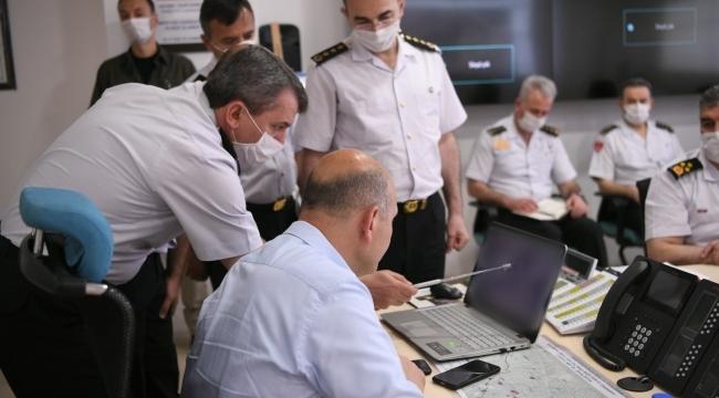 Bakan Soylu harekat merkezinden açıkladı: 2 terörist etkisiz hale getirildi