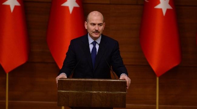 Bakan Soylu: Musibetleri kaynağında yok etmeye çalışıyoruz