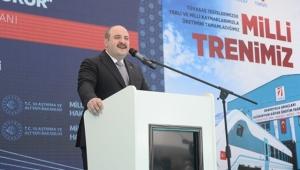 Bakan Varank: Milli elektrikli trende ağustosta yol testlerine geçilecek