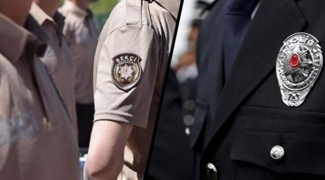 Bakanlıktan polis-bekçi görev karşılaştırması