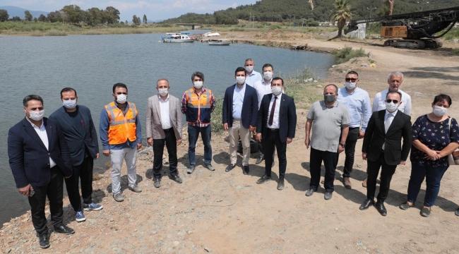 Başkan Sürekli'den Efes Kanal Yolu müjdesi