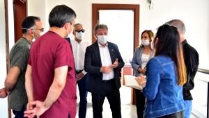 Bornova Belediyesi'nden sağlık kahramanlarına destek
