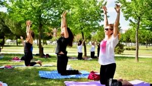 Bornova'da yoga zamanı