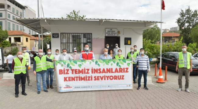 Çiğli mahallelerinde ikinci tur temizlik başladı