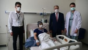 EÜ'de Normalleşme Sürecinde İlk Karaciğer Nakli Yapıldı