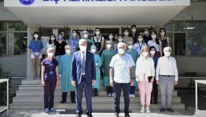 EÜ Diş Hekimliği Fakültesi, yeni normalleşme döneminde hasta kabulüne başladı