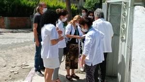 Foça'da Covid-19 Antikor Taramalarına Başlandı
