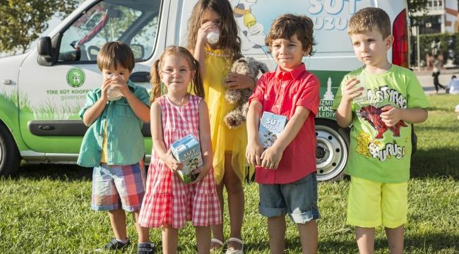 İzmir'de çocuklar sağlıklı üretici mutlu