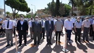 Kaymakam Kemal Bey ölüm yıl dönümünde Menemen'de anıldı