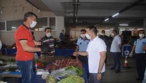 Kuşadası Belediyesi Kapalı Pazar Yeri için Harakete Geçti