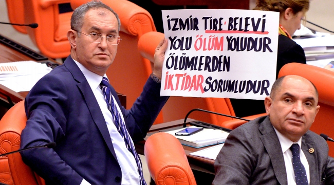 Meclis'te pankart açarak dört yıl önce gündeme taşıyan CHP'li Sertel, iktidara seslendi:
