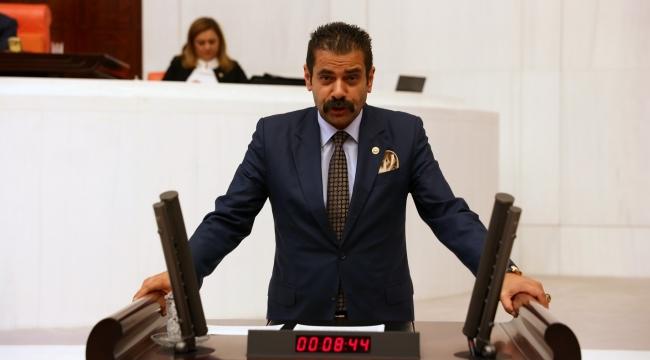MHP'li Hasan Kalyoncu Çed Raporu Alınmadan yapılan İhaleleri Sordu