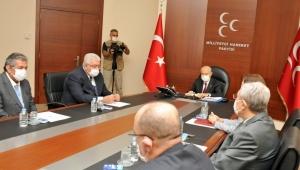 MHP Lideri Bahçeli Uzun Aradan Sonra İlk başkanlık Divanı Toplantısı