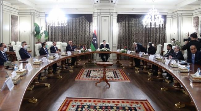 Türk heyetin Libya ziyaretinin perde arkası