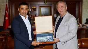 Başkan Ömer Günel'den Başkan Mansur Yavaş'a Ziyaret