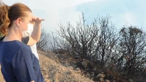 Fatma Çalkaya : Yanan her ağaçla canımız yanıyor