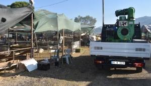 Kemalpaşa'da Bayram öncesi dezenfeksiyon seferberliği