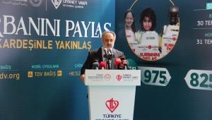 Prof. Dr. Maşalı: 20 milyon kişiye yardım ulaştırmayı hedefliyoruz