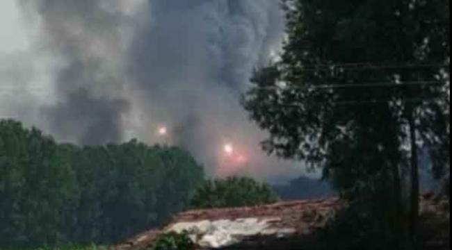 Sakarya'da havai fişek fabrikasında patlama 56 Yaralı