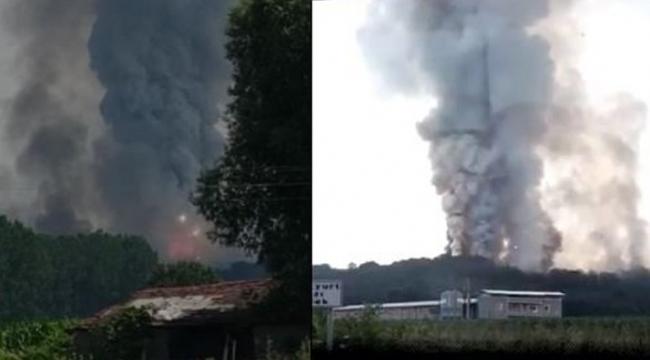 Sakarya'daki Patlamada 2 can Kaybı 73 Yaralı