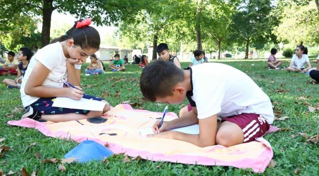Bayraklılı çocuklardan Başkan Sandal'a mektup