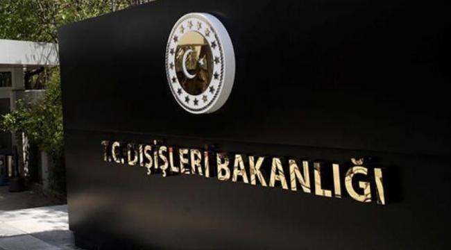 Dışişleri'nden ABD'ye PKK/YPG ile petrol anlaşması tepkisi